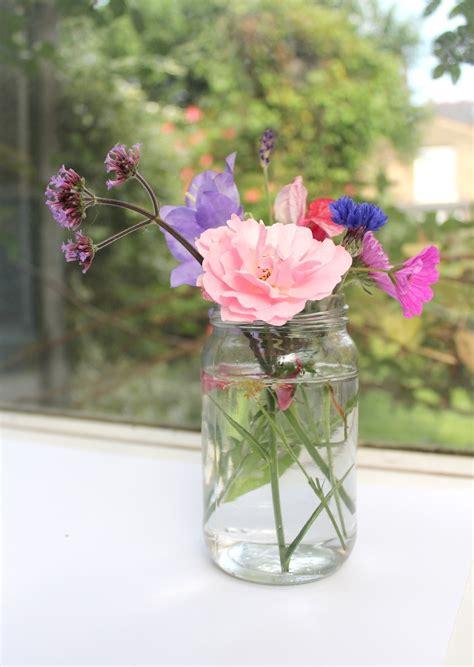 flowers in jars garden moodboard july wolves in london
