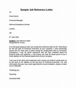 reference letter employer sample cover letter templates With job reference letter template free