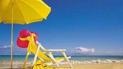 Chair Beach Summer Wallpapers Desktop