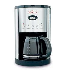 I used to be a long standing gevalia club member whose first shipment included 4 boxes of coffee of my choice and a free 12 cup gevalia coffee maker. Domestic Diva On A Dime: How to Clean a Coffee Maker