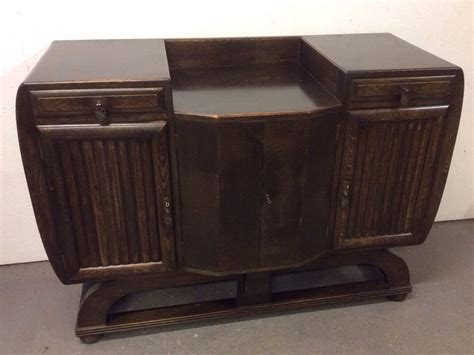 Deco Sideboard by Stunning Deco Oak 1920 S 30 S Buffet Sideboard