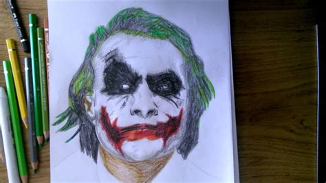 joker drawing drawing pictures youtube
