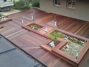 le bois dans tous ses etats sarl pascal collomb With terrasse bois avec bassin