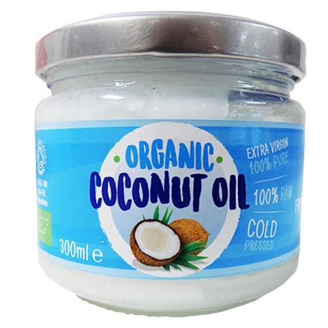 Organic Coconut Oil 300ml   Cooking Oil, Groceries