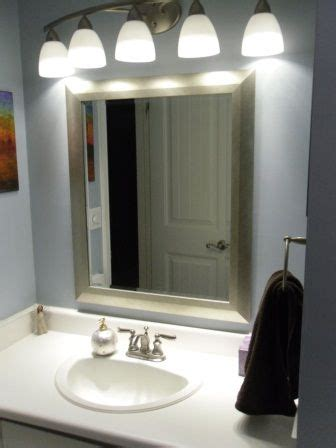 Above Mirror Bathroom Lighting by Bathroom Mirrors And Light Fixtures Bathroom Lighting