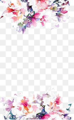 watercolor flowers watercolor flower background
