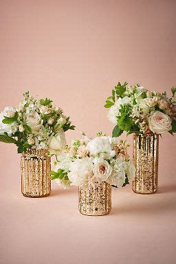 Mercury Vases Wedding - fluted mercury vases would look great as centerpieces