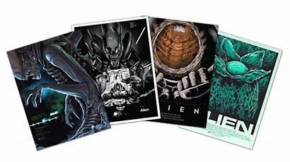 Alien Cards Mondo Collectible Esc