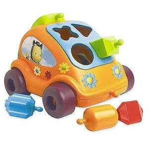Zabawki Cotoons Samochód Kształtów Cotoons Smoby Zabawki Edukacyjne