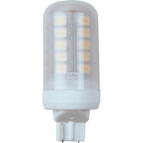 meridian 20 watt equivalent bright white t5 wedge base led light bulb 13170 the home depot