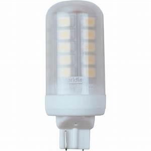 Meridian 20-Watt Equivalent Bright White T5 Wedge Base LED ...