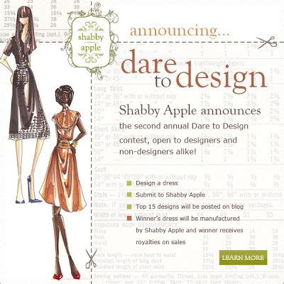 shabby apple design contest the sewing project settembre 2010