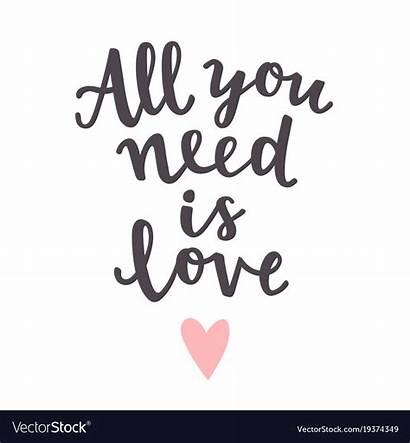 Need Quote Romantic Vector