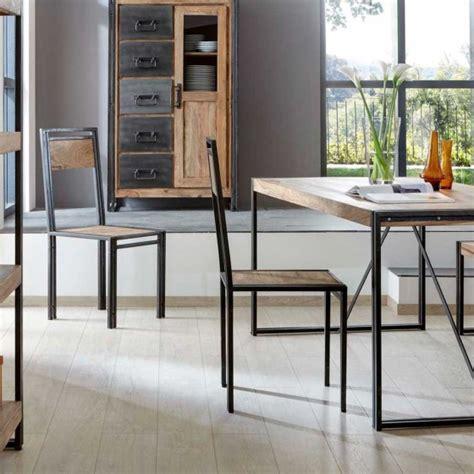 chaise metal industriel pas cher chaise style industriel pas cher maison design bahbe com