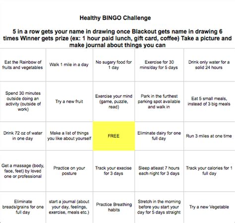 workplace fitness challenge template 5 ways to challenge employees during health fitness month bci