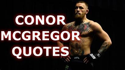 Mcgregor Conor Quotes Motivational