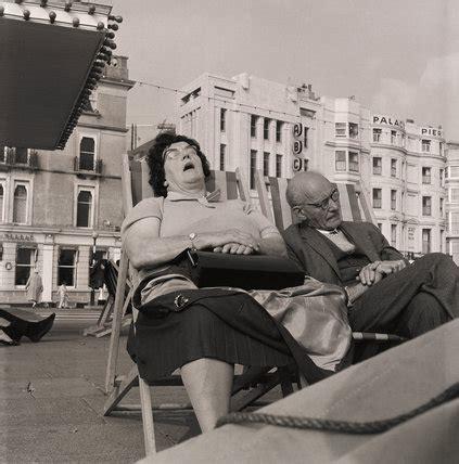 brighton 1963 sunbathing henry grant london museum