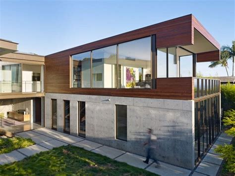 Beton Holz Fassade by Best 25 Concrete Facade Ideas On Concrete