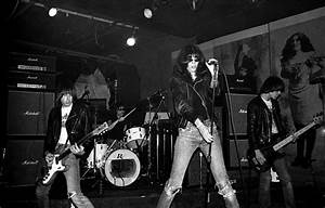 The Ramones, CBGB's, New York City, 1977 | Ebet Roberts