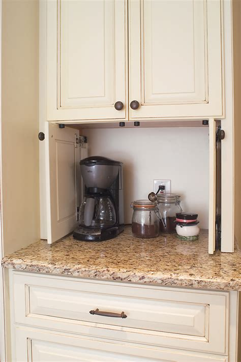 coffee cabinets for kitchen pocket doors to hide kitchen appliances a must in a dream
