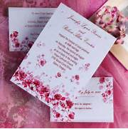 Pink Wedding Invitations 25 Fantastic Wedding Invitations Card Ideas Modern Wedding Invitation Wording 2nd Marriage The Unique And Elegant Hearts Affordable Wedding Invitations