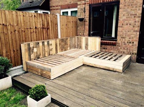 plan canapé en palette 52 idées pour fabriquer votre meuble de jardin en palette