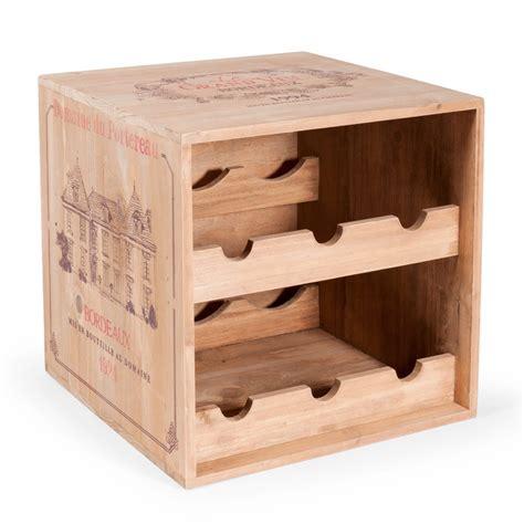 meuble chambre ado fille range bouteilles h 27 cm portereau maisons du monde