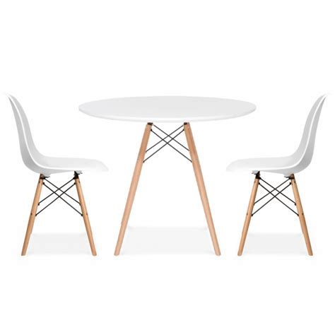 charles eames eames dsw style dining table 90cm