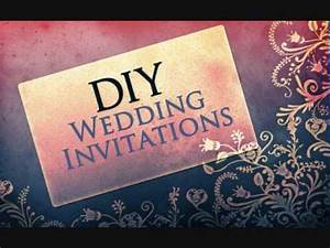 wedding invitations do it yourself free download how With diy wedding invitations photoshop