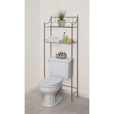 space saver shelf essential home 2 shelf space saver nickel finish