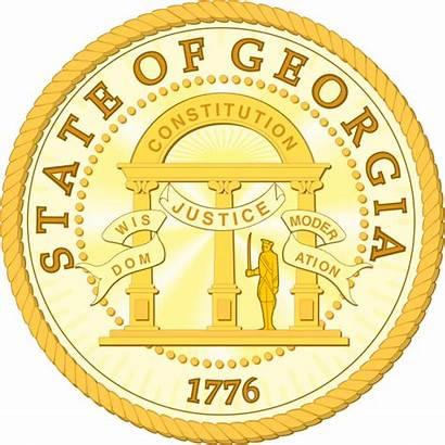 Georgia Seal State Svg Ga Laws Government