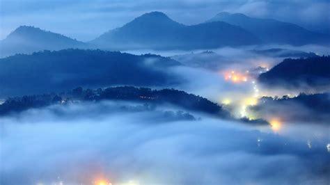 薄雾弥蒙唯美仙境壁纸,高清图片,电脑桌面-壁纸族