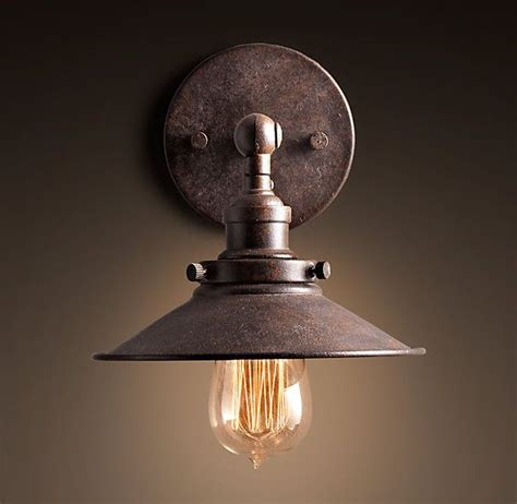 sconce over kitchen sink over sink in kitchen 20th c factory filament metal
