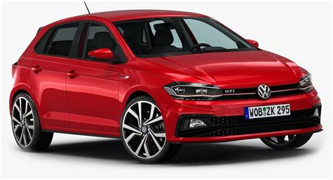 3d Model 2018 Volkswagen Polo Gti Turbosquid 1202140