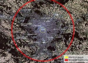 Tsar Bomba blast zone