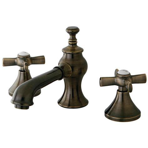 designer bathroom faucets kingston brass modern cross 8 in widespread 2 handle mid