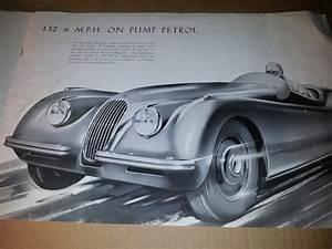 Concessionnaire Jaguar Paris : notice publicitaire d 39 origine et d 39 poque pour jaguar xk 100 xk 120 ~ Gottalentnigeria.com Avis de Voitures