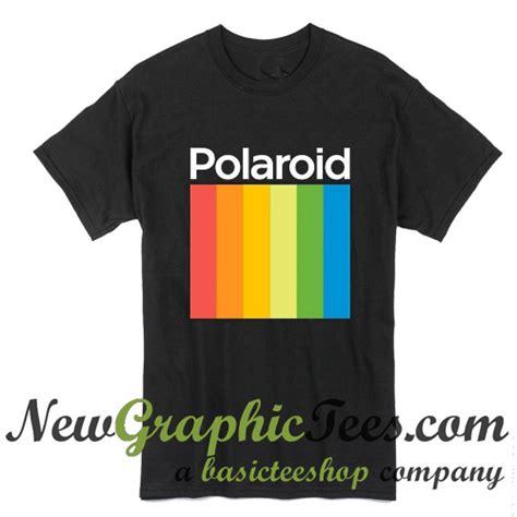 polaroid retro polaroid vintage retro logo t shirt