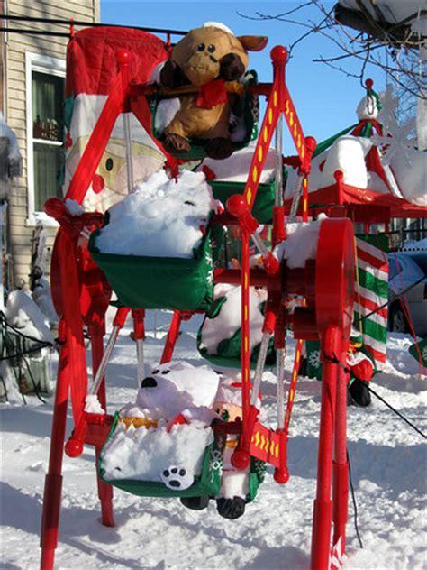 christmas ferris wheel lawn decoration plans diy free