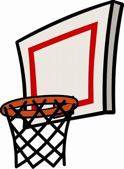 Basketball Hoop Transparent Clipart Nets Clip Goal