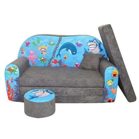 bébé é du canapé lit enfant fauteuils canapé sofa pouf et coussin l 39 océan