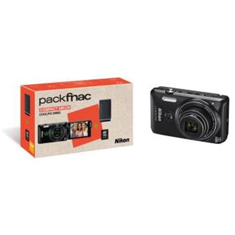 fnac appareil photo compact pack fnac compact nikon coolpix s6900 noir etui carte