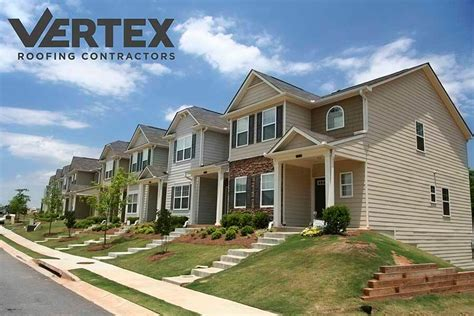 utah apartment condo  townhouse roofing vertex