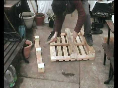 easily dismantle wooden pallets using hammer plank 1001 pallets