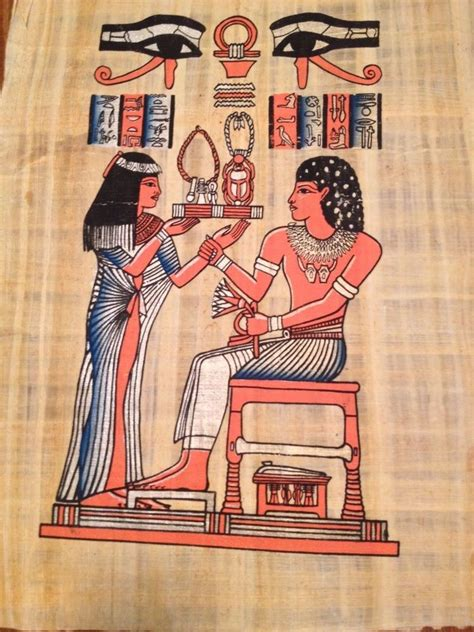 huge egyptian marriage ceremony  ancient egypt papyrus