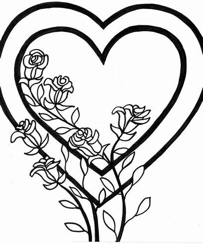 Coloring Heart Pages Printable Ages