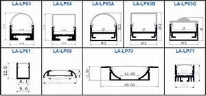 Led Strip Profil : 16mm wide recessed aluminum u channel profile for led strip lighting buy aluminum u channel ~ Buech-reservation.com Haus und Dekorationen