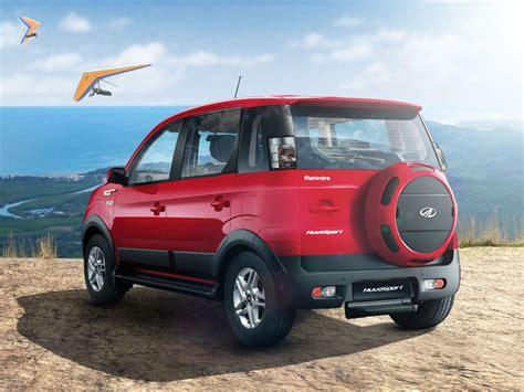 indian car mahindra mahindra nuvosport launched at rs 7 35 lakh full price
