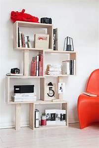 Comment Faire Une Bibliothèque : diy fabriquer une biblioth que originale c t maison ~ Dode.kayakingforconservation.com Idées de Décoration