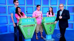 The Price is Right - Showcase Results - 6/4/2012 - YouTube